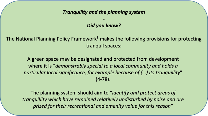 Planning Policy_Tranquil Spaces